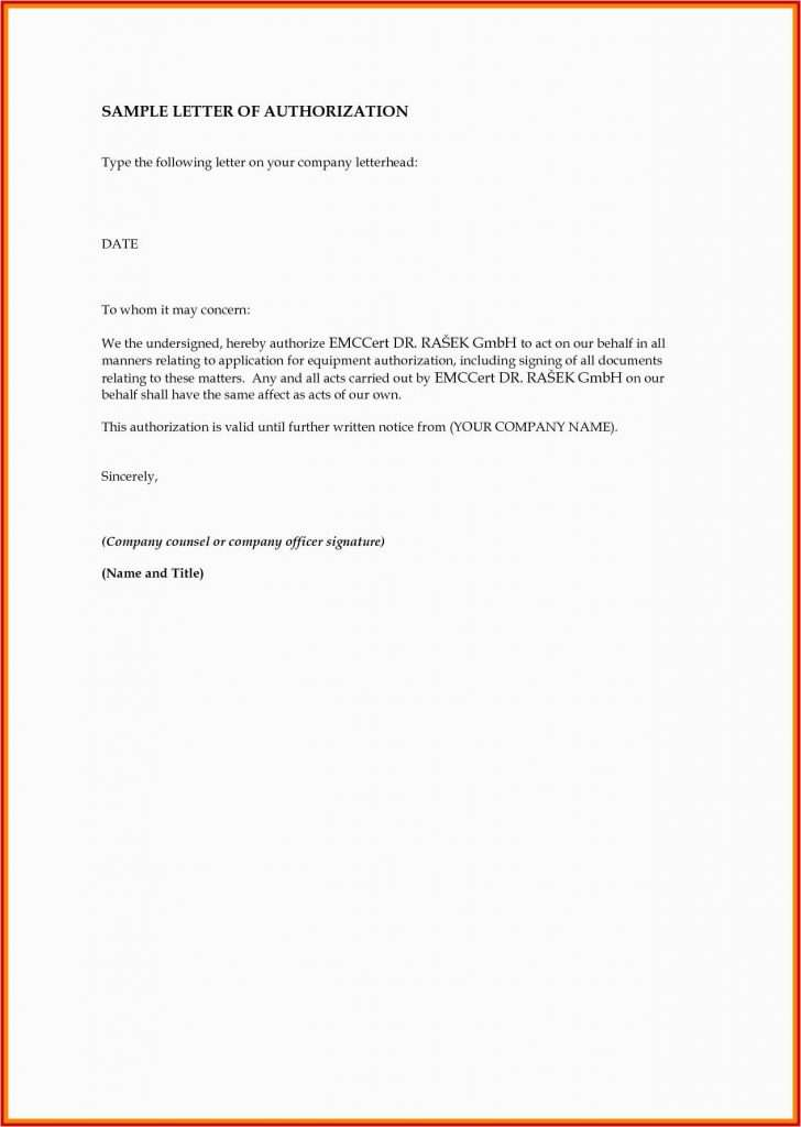 Sample of Authorization Letter for SSS Download Authorization Letter