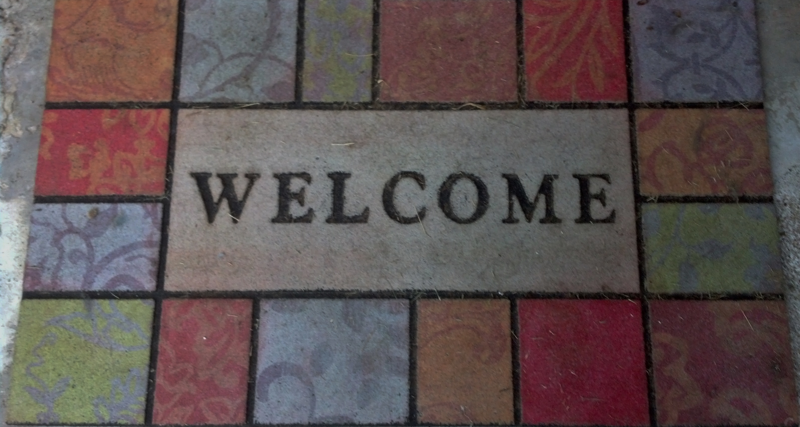 Leave Welcome Mat July 2013 Julie Glover Author