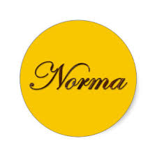 norma in yellow circle
