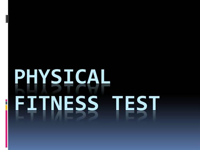 physical fitness powerpoint
