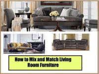 How to Mix And Match Living Room Furniture |authorSTREAM