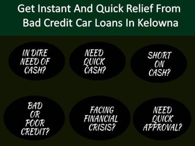Get Instant And Quick Relief from Bad Credit Car Loans in Kelowna |authorSTREAM