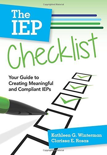 The IEP Checklist - Your Guide to Creating Meaningful and Compliant