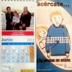 Ya disponible el Calendario 2013 de la Confederación Autismo España