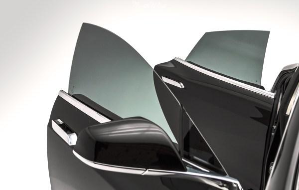 Prestige Spectra PhotoSync Window Tint installed on Tesla Model S
