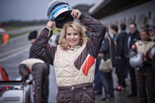 Rennstrecke Ascari - beim Bridgestone Test