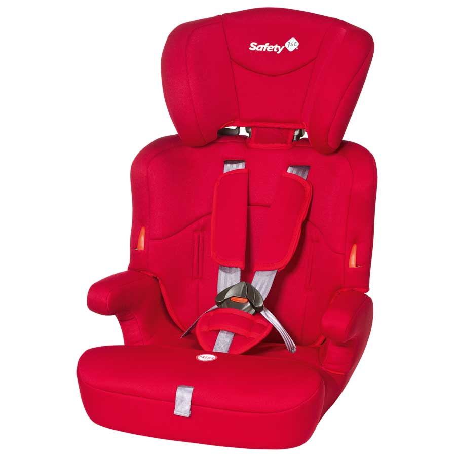 Sitzerhöhung Isofix Safety 1st Kindersitz Ever Safe Full Red Gruppe 1,2,3