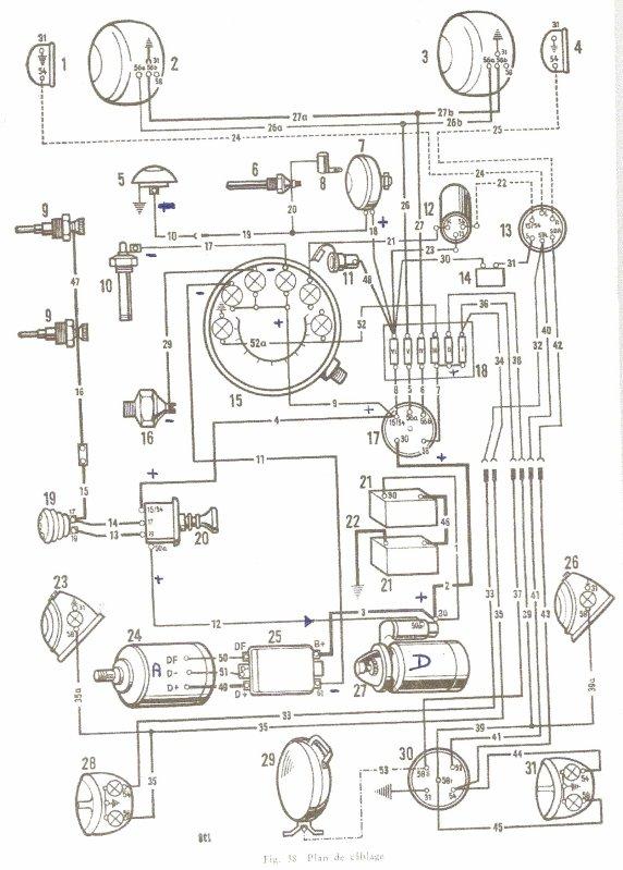 porsche schema cablage electrique