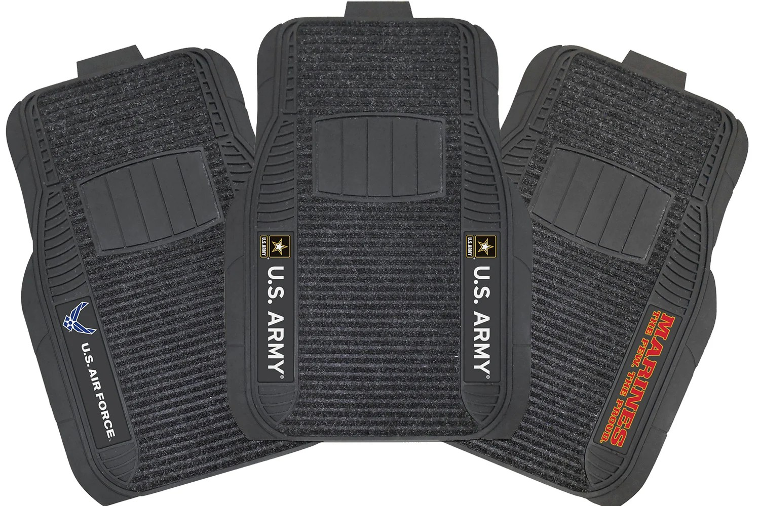 Auto Accessories Garage Military Discount Fanmats Military Deluxe Floor Mats