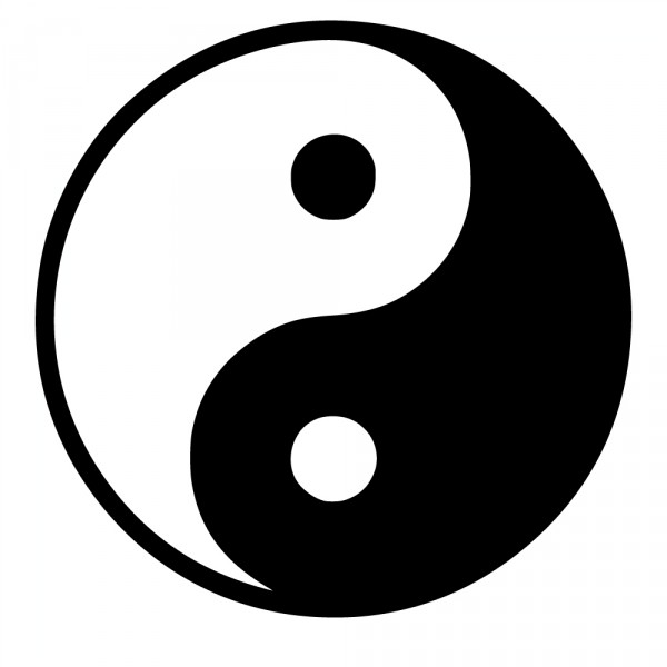 Suche Wandtattoos Yin Und Yang - Hot And Cool - Autoaufkleber