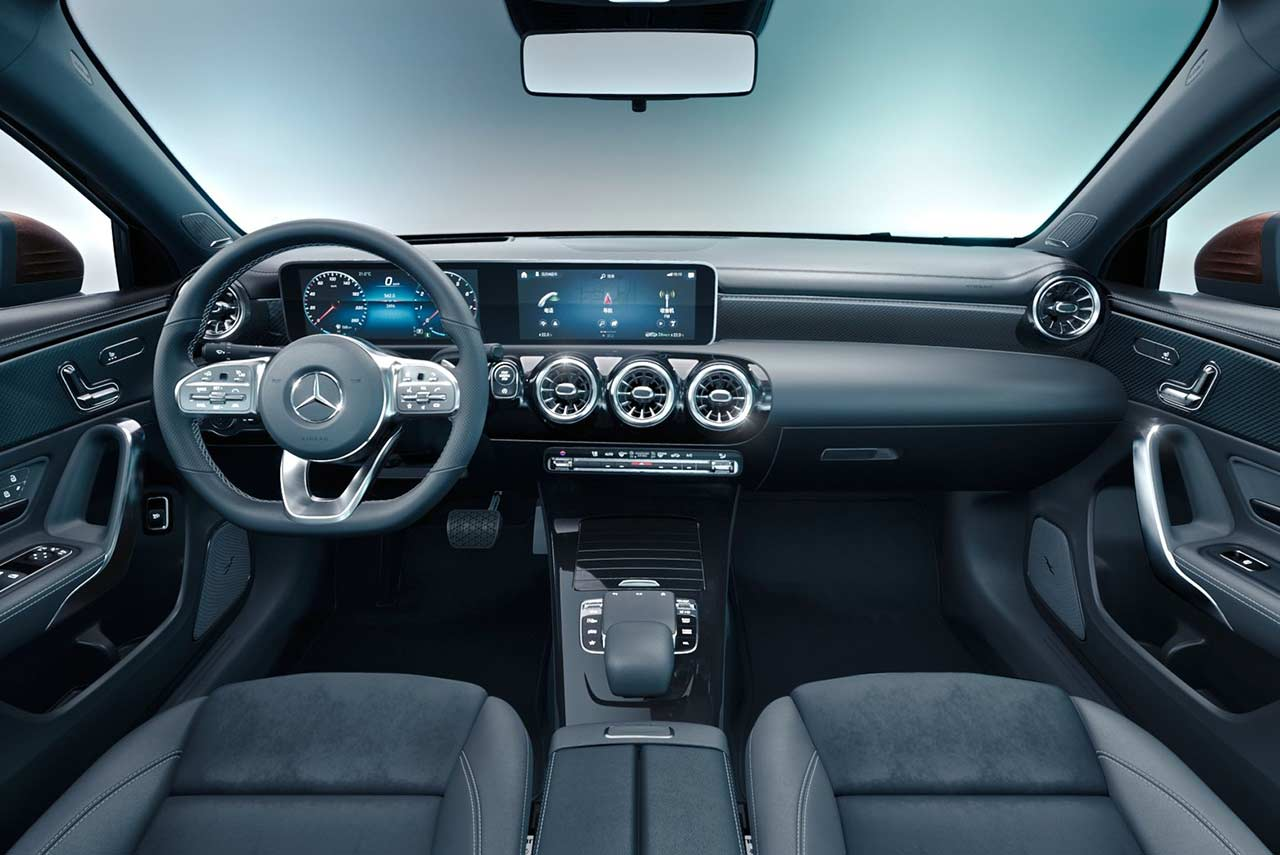Mercedes A Class Interior 2019 Mercedes Benz A Class L Sedan Is Exclusively For