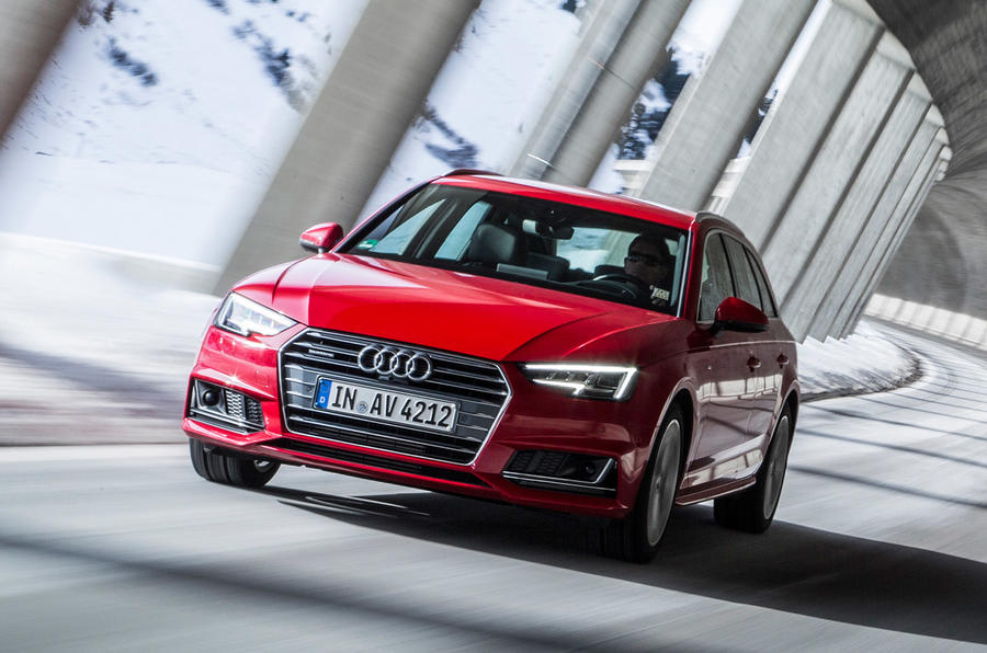Audi Driving New Audi Quattro Ultra Four-wheel Drive System Detailed