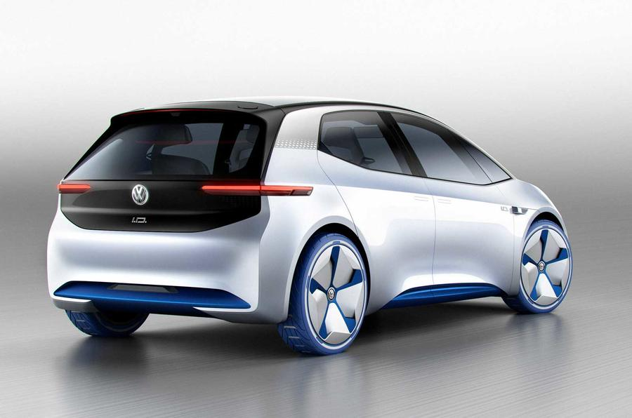 Large Mirrors Au Volkswagen Id Hatch To Stay True To Concept Says Design