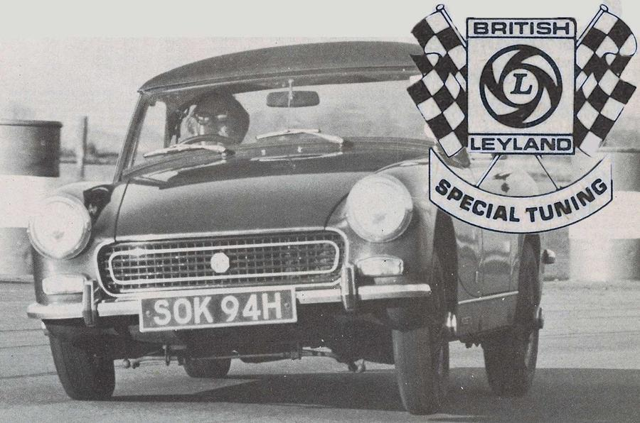 Car Manufacturers Performance Divisions Throwback Thursday 1971 British Leyland Special Tuning