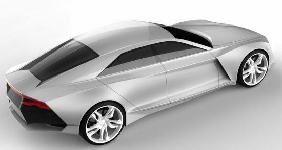 designer imagines porsche panamera maserati quattroporte slayer in audi r9 concept auto chunk. Black Bedroom Furniture Sets. Home Design Ideas