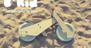 B'Kid wooden bike