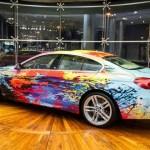 BMW 650i Gran Coupe art car  1