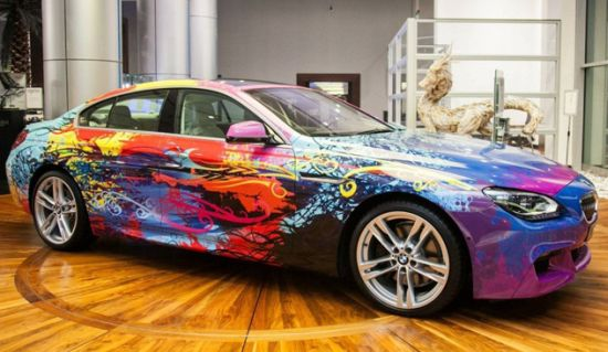 BMW 650i Gran Coupe art car