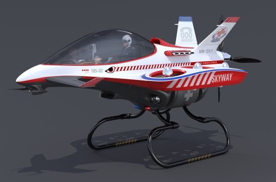 Daniel Dobrogorsky Skyway air ambulance