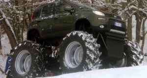 Fiat Panda Monster Truck 8