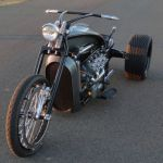 Ford Flathead V8 powered trike 4