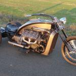 Ford Flathead V8 powered trike 5