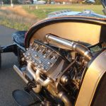 Ford Flathead V8 powered trike 7
