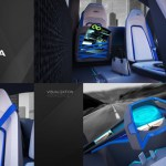 Designers imagine city electric car for Czech automaker in Skoda ONE 5
