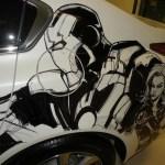 Humberto Ramos' Avengers Artwork on Acura TL  4