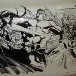 Humberto Ramos' Avengers Artwork on Acura TL  5