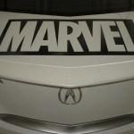 Humberto Ramos' Avengers Artwork on Acura TL  6