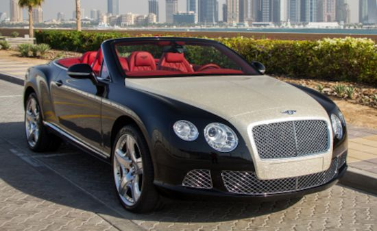 Luxury Refinish Bentley Continental GTC