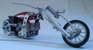 Scale souvenir motorbike models 10