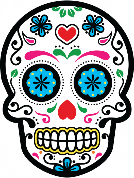 Stickers Vintage Pour Meuble Calavera - Tete De Mort Mexicaine 24 | Autocollants-stickers