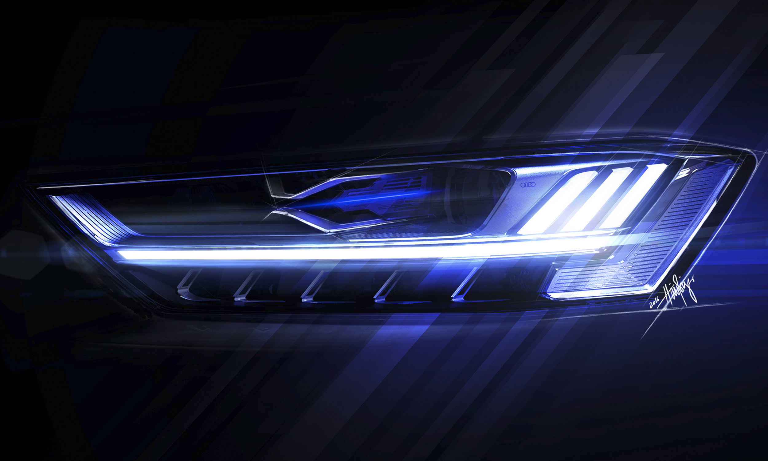 High Tech Lamp 2019 Audi A8 First Look Autonxt