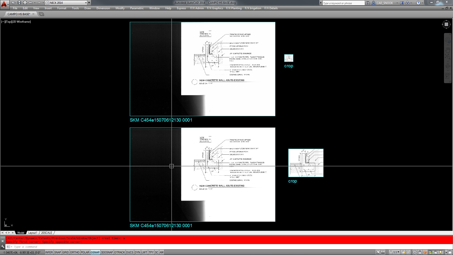 Photoshop 6 Solved Photoshop To Autocad Cs 6 Cropping Problem Maybe Wrong