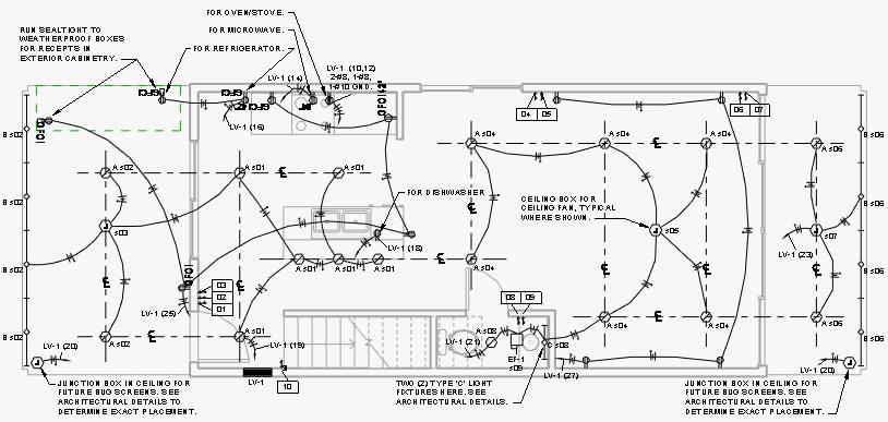 electrical plan revit 2013