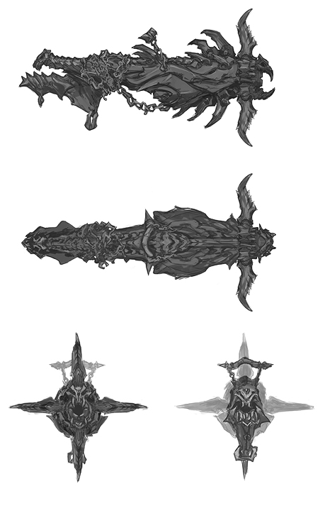 ???????ds Darksiders - Weapons