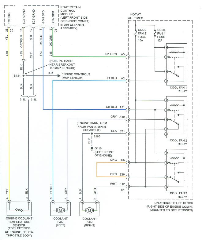 2003 Buick Lesabre Engine Diagram Cooling Wiring Diagram