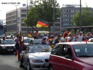 Bilder der WM 2006 in Nürnberg auf n-town.de