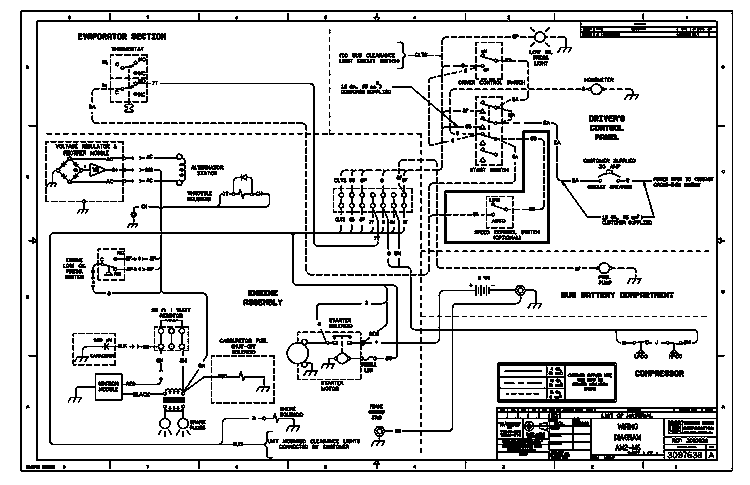 thermo king ledningsdiagram