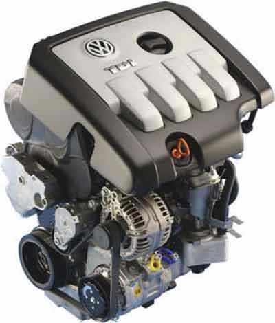 Двигатель TDI 2,0 л, 103 кВт с сажевым фильтром, 2-клапанная техника