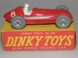 Dinky Toys Alfa Romeo 158 jantes en aluminium