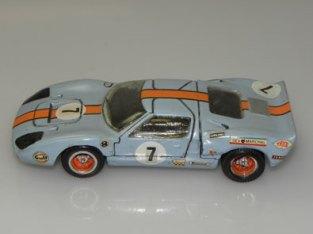 Modelisme Ford GT40 Gulf