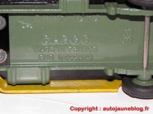 Simca Cargo de pré série: pavillon lisse et sans indication Simca sous le chassis
