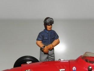 Le grand Fangio à l'heure du départ