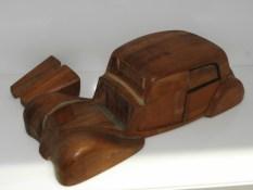 le prototype en bois créait au 43 rue Cavendish