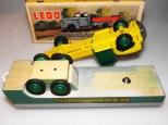 Lego remorque clipsée et cloutée