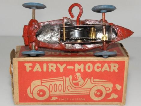 """monoplace de course mécanique """"made in Japan"""""""