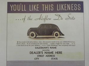 publicité De Soto afin de promouvoir le jouet